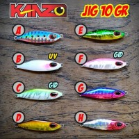 Lure Micro Metal Jig 10gr Ultralight & Light Fishing