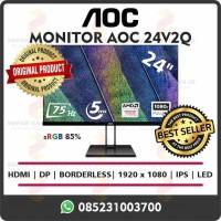 Monitor AOC 24V2Q Gaming Murah Garansi Promo
