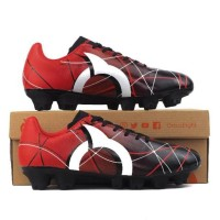 Jual Sepatu Bola Ortuseight Ventura FG - Red / Blue Original Ortus