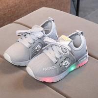 Sepatu Anak Laki-laki & Perempuan Casual Led 011 Bahan Kanvas - Murah
