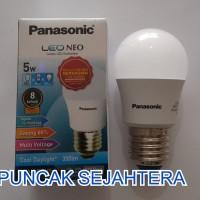Lampu LED Panasonic 5w 5 watt NEO