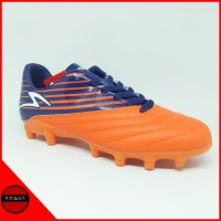 Sepatu Bola Specs Barricada Genoa 19 FG Orange Blue Original Promo