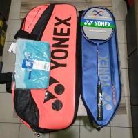 Raket Badminton Yonex Duora 10 LCW Bonus Tas dan Kaos