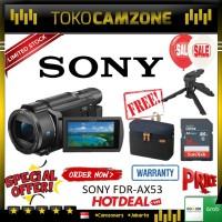Sony FDR-AX53 AX53 4K Ultra HD Handycam Camcorder Special Paket