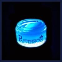 Hot Pomade Ritjhson Glow In The Dark Blue Free Sisir Saku