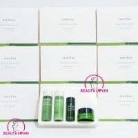 NEW INNISFREE - Green Tea Special Kit EX 4 Items - Double Squeezed
