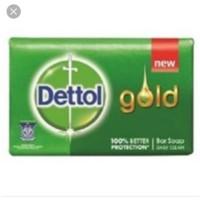 Dettol sabun batang gold 65g isi 12