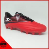 Sepatu Bola Specs Barricada Genoa 19 FG Red Black White Original