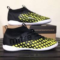 Sepatu Futsal Black yellow Mitre INVADER IN ORIGINAL