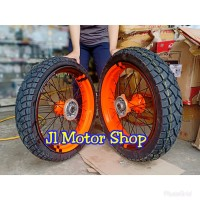 Sepaket Velg 17 Tromol set jari2 klx 150. Supermoto dan dtracker bo