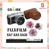 Leather Case XA7 XA5 XA3 XA10 Fujifilm Fuji Bag Tas Cover