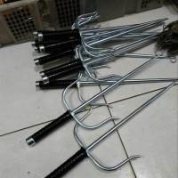 Trisula Stainless Senjata Silat 1 pcs OLH2