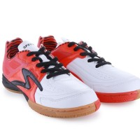 Sepatu Futsal Specs Metasala Rebel - White/Red Rose/Black Original