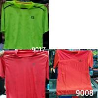 Kaos Badminton RS HNP 9008 Hitam Biru Original