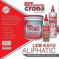 TERMURAH Lem Kayu Crona 234 Solvent Resistant 4Kg
