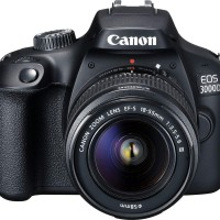 Canon EOS 3000D Kit EF-S 18-55mm III RESMI PT Datascrip Kamera DSLR