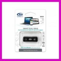 Termurah Card Reader Memory Card Microsd Micro Sd & Otg Team M141 Usb