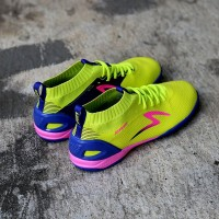 Sepatu Futsal Specs Accelerator Infinity IN Solar Slime Naval Blue S