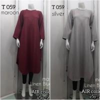 baju atasan tunik - Tunik Linen AIR M36 - grabdress