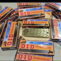 gear set dan rantai DiD 520 Gold Oring untuk inazuma Loosepack