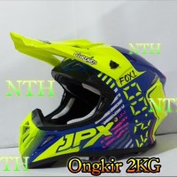 Helm JPX Cross X23 warna kilat.Bukan Helm LTD