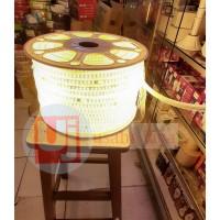 Lampu selang strip led 220 v led selang warm white outdoor indoor