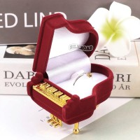 necklace box kotak gift kado kawin nikah kalung cincin piano