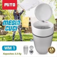 Mesin Cuci Mito WM1 Portable serbaguna Koss Mess Laundry Palembang