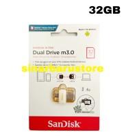 "FLASHDISK/MEMORY/FLASH DRIVE ANDROID SANDISK"" 32 GB OTG 3.0 ORIGINAL"