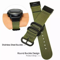 Tali nylon buckle strap for Garmin Fenix 5 5 plus approach S60 forerun