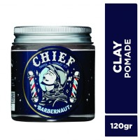CHIEF POMADE SPACE CLAY 120GR GLASS JAR