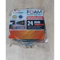 """Isolasi/Solasi/Selotip Bolak Balik/Double Tape Foam/Spon NACHI 1""""24mm"""