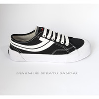 Sepatu Johnson Galaxy Pro Lowcut (LC) - Black White