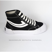 Sepatu Johnson Galaxy Pro Highcut (HC) - Black White