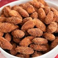 Kacang Almond Panggang Rasa Coconut Cinnamon 250gr/Roasted Almond