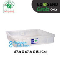 Kontainer Roti 2236P GREEN LEAF 67.4x67.4x15cm/ Container Roti