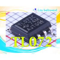 TL072 TL072C Low-Noise JFET-Input Op-Amp SOIC-8