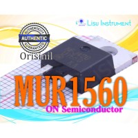 ORIGINAL MUR1560 MUR1560G 15A 600V Rectifier TO-220 ON Semiconductor