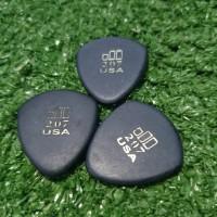 Jim Dunlop JAZZTONE LARGE ROUND TIP PICK GITAR 207 100% Original USA