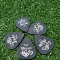 Pick Gitar Dunlop Tortex Pitch Black 1mm 100% Original USA