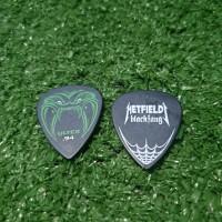 Jim Dunlop Hetfield Black Fang .94 Metallica Pick Gitar 100% Original