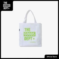 The Goods Dept Tote Bag Unisex TOTE BAG TGD WHITE STABILO GREEN Putih