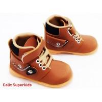 Sepatu Anak Dokmar Caramel Sepatu Baby