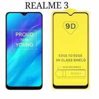 TEMPERED GLASS FULL COVER REALME 3