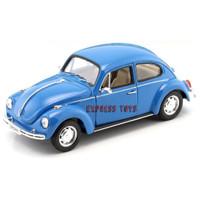 WELLY NEX DIECAST VOLKSWAGEN BEETLE HARD TOP 1:24 VW BEETLE DIE-CAST