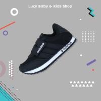 Sneakers Anak / Sepatu Olahraga Anak / Sepatu Adidas Anak Hitam ADS