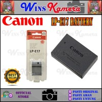 BATERAI CANON LP-E17 / BATTERY CANON LP-E17 / LPE17