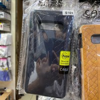 SAMSUNG S10 PLUS Silicone Back Leather Bottega Case