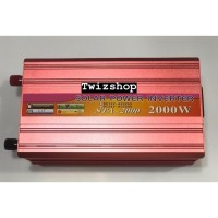 Power Inverter 2000 Watt / 2.000W DC to AC