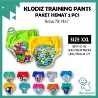 [Isi 2] Klodiz XXL Training Pants/ Celana Dalam Latihan Pipis Anak - Cowok